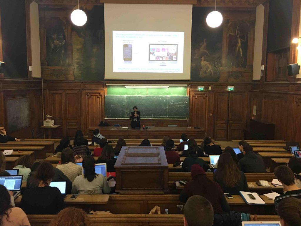 Conférence IBM Watson à la Sorbonne, janvier 2017