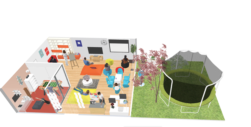 Let's see how students imagined their ideal classroom at ISC